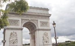 Arc de Triomphe, Παρίσι Στοκ Εικόνες