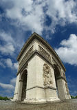 Arc de Triomphe, Παρίσι Στοκ Φωτογραφίες