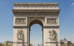 Arc de Triomphe - Παρίσι. Στοκ Εικόνες