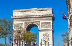 Arc de Triomphe (1808), Παρίσι Στοκ εικόνα με δικαίωμα ελεύθερης χρήσης