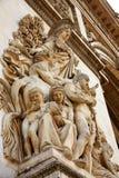 Arc de Triomphe στην αψίδα του Παρισιού του θριάμβου Στοκ φωτογραφία με δικαίωμα ελεύθερης χρήσης