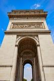 Arc de Triomphe στην αψίδα του Παρισιού του θριάμβου Στοκ φωτογραφίες με δικαίωμα ελεύθερης χρήσης