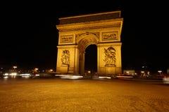 Arc de Triomphe στην πλατεία Charles l$le Gaulle Στοκ Εικόνες