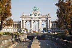 Arc de Triomphe στις Βρυξέλλες, Βέλγιο Στοκ εικόνες με δικαίωμα ελεύθερης χρήσης