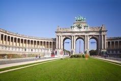 Arc de Triomphe στις Βρυξέλλες, Βέλγιο Στοκ Φωτογραφίες