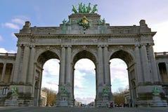 Arc de Triomphe στις Βρυξέλλες, Βέλγιο Στοκ Φωτογραφία