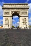 Arc de Triomphe στο Παρίσι Γαλλία Στοκ εικόνες με δικαίωμα ελεύθερης χρήσης