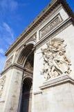 Arc de Triomphe στο Παρίσι Στοκ φωτογραφίες με δικαίωμα ελεύθερης χρήσης