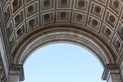 Arc de Triomphe στο Παρίσι Στοκ εικόνα με δικαίωμα ελεύθερης χρήσης