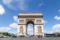 Arc de Triomphe στο Παρίσι Στοκ Φωτογραφίες