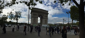 Arc de Triomphe Photo stock