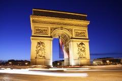 Arc de Triomphe Imagens de Stock