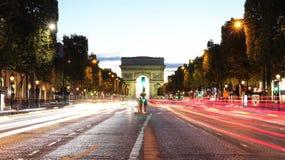 Arc de Triomphe immagini stock