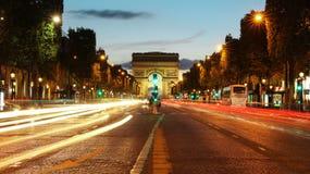 Arc de Triomphe immagine stock libera da diritti