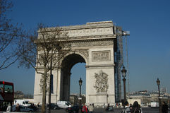 Arc de triomphe Photographie stock