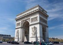 Arc de Triomphe stockfoto