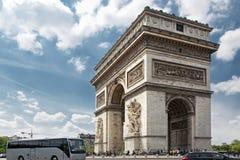 Arc de Triomphe. In Paris Royalty Free Stock Photography