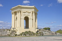 Arc de Triomphe. In Peyrou Garden, Montpellier, France Stock Photo