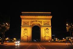 Arc DE Triomphe Royalty-vrije Stock Foto's