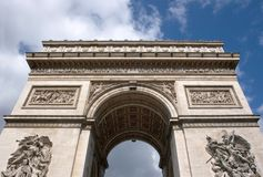 Arc de Triomphe Royalty Free Stock Images