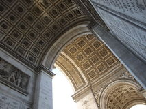 Arc de Triomphe Arkivfoto