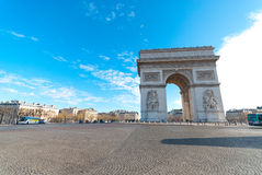 Arc de Triomphe Foto de Stock Royalty Free