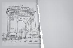Arc de Triomphe Στοκ Φωτογραφίες