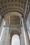 Arc de Triomphe 6 Arkivfoto