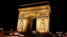 Arc de Triomphe Imagenes de archivo