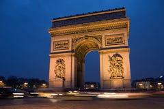 Arc de Triomphe Images libres de droits