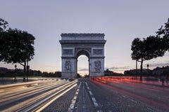 «Arc de Triomphe» Στοκ Φωτογραφία