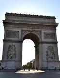 Arc de Triomphe imagen de archivo libre de regalías