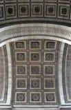 Arc de Triomphe. Details Royalty Free Stock Images