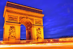 Arc de Triomphe Royalty Free Stock Image