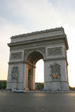 Arc de Triomphe. The Arc de Triomphe at the Champs Elysees in Paris Stock Photos