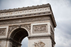 Arc de Triomphe (Arch of Triumph) Stock Photos