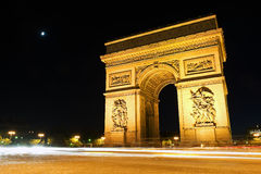 Arc de Triomphe - Arch of Triumph, Paris, France Stock Photos