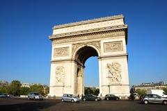Arc de Triomphe - Arch of Triumph, Paris, France royalty free stock photo