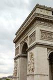 Arc de Triomphe. (Arch of Triumph) in Paris, France Stock Photos