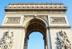 Arc de Triomphe - Arch of Triumph Paris - France royalty free stock photos