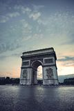 The Arc de Triomphe Royalty Free Stock Photo