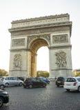 Arc de Triomphe - arco del trionfo, Parigi, Francia Fotografie Stock