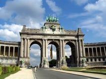 Arc de Triomphe, Belgium. Arc de Triomphe in Belgium in sunny weather Stock Photos