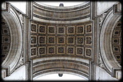 Arc de Triomphe ceiling Royalty Free Stock Photos
