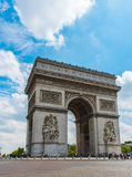 Arc de Triomphe. In central Paris Royalty Free Stock Photography