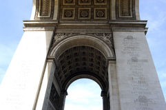Arc De Triomphe Close Royalty Free Stock Image