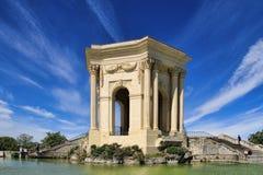 Arc de Triomphe, dans le jardin de Peyrou à Montpellier, Frances Photo stock