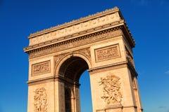 Arc de Triomphe at daytime, Paris Stock Photography