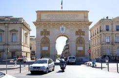 Arc de Triomphe de Μονπελιέ Στοκ Φωτογραφίες