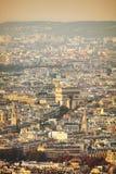 Arc de Triomphe de λ ` Etoile στο Παρίσι Στοκ φωτογραφία με δικαίωμα ελεύθερης χρήσης